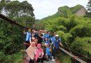 นักศึกษาสาขาวิชาการเมืองการปกครอง มรส. นำคณะนักศึกษาสาขาวิชาความสัมพันธ์ระหว่างประเทศ SBU, Indonesia เยี่ยมชมสถานที่สำคัญในจังหวัดสุราษฎร์ธานี